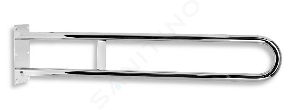 Novaservis Poignées - Double poignée 844 mm, inox poli R6681,44