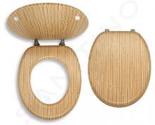 Novaservis Prestige - WC-zitting, gefineerd hout WC/BAMBUS