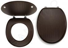 Novaservis Prestige - Abattant WC, bois plaqué WC/WENGE