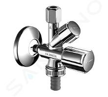 Schell QUICK - Kombinovaný rohový ventil, chróm 035040699