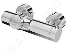 Schell Vitus - Termostatická sprchová baterie VITUS VD-SC-T / o samouzavírací s horním vývodem, chrom 016000699