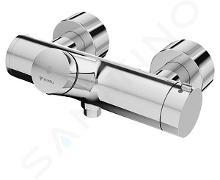 Schell Vitus - Termostatická sprchová batéria VITUS VD-SC-T / u samozatváracia so spodným vývodom, chróm 016100699