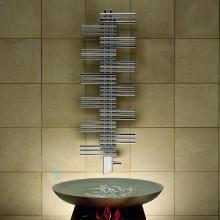 Zehnder Yucca - Kúpeľňový radiátor 1340x600 mm, rovný, stredové pripojenie 50 mm, jednoradový, chróm YSC-130-060