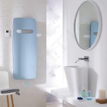 Zehnder Vitalo Spa - Kúpeľňový radiátor 1200x490 mm, rovný, stredové pripojenie 50 mm, biely lak VIT-120-050