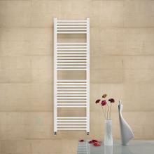 Zehnder Impa - Kúpeľňový radiátor 1180x500 mm, rovný, biely lak IMP-120-050