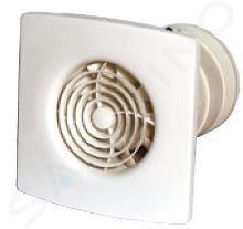 Zehnder Silent - Tichý nástěnný a stropní ventilátor 100 mm s funkcí Humidistat a časovačem ZSR100HTR