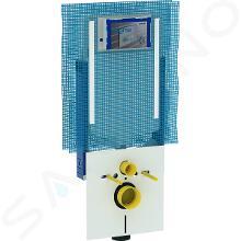 Geberit Combifix - Elemento di montaggio Combifix per WC sospesi, con cassetta Sigma 8 cm, con attacco per aspirazione cattivi odori 110.791.00.1