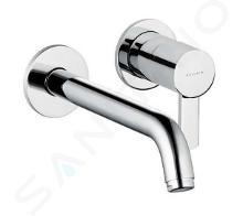 Kludi Zenta - Mitigeur de lavabo encastré, 2 trous, chrome 382450575