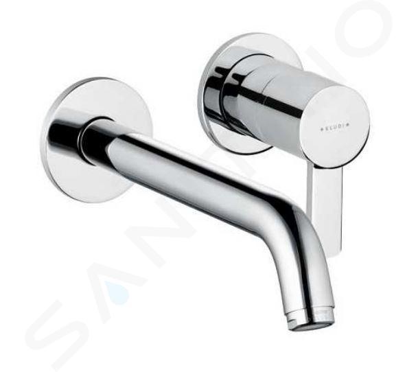 Kludi Zenta - Miscelatore ad incasso a 2 fori per lavabo, cromato 382450575