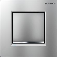Geberit Splachovací systémy - Pneumatické ovládání splachování pisoárů Typ 30, matný chrom/lesklý chrom 116.017.KN.1