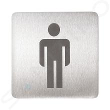 Sanela Príslušenstvo - Piktogram – WC muži SLZN 44AA