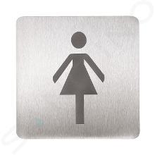 Sanela Príslušenstvo - Piktogram – WC ženy SLZN 44AB