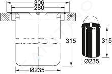 Franke KEA - Vide déchets E12, vert/inox 134.0035.042