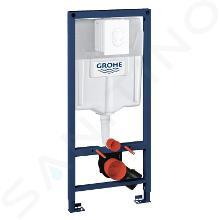 Grohe Rapid SL - Predstenový inštalačný prvok na závesné WC, nádržka GD2, ovládacie tlačidlo Skate Air, alpská biela 38764001