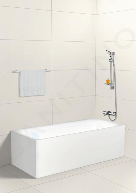 Hansgrohe Ecostat - Mitigeur thermostatique de baignoire 1001 CL, chrome 13201000