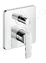Axor Citterio E - Mitigeur de baignoire encastré, chrome 36457000