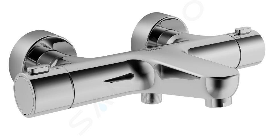 Hansa Prisma Miscelatore Termostatico Per Vasca Da Bagno Cromato 58102101 Sanitino It