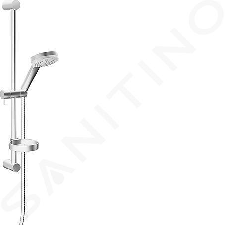 Hansa Viva - Set de douche avec barre murale 60 cm, chrome 44160110