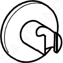 Hansa Supports - Support de douche, chrome 44440173