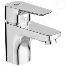 Ideal Standard Ceraplan III - Miscelatore da lavabo, con piletta di scarico, BlueStart, cromato B0767AA