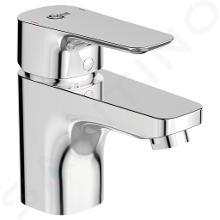 Ideal Standard Ceraplan III - Miscelatore monocomando per lavabo, 5l/min, con sistema di scarico, cromato B0772AA
