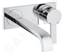 Grohe Allure - Rubinetto a 2 fori per lavabo, cromato 19386000