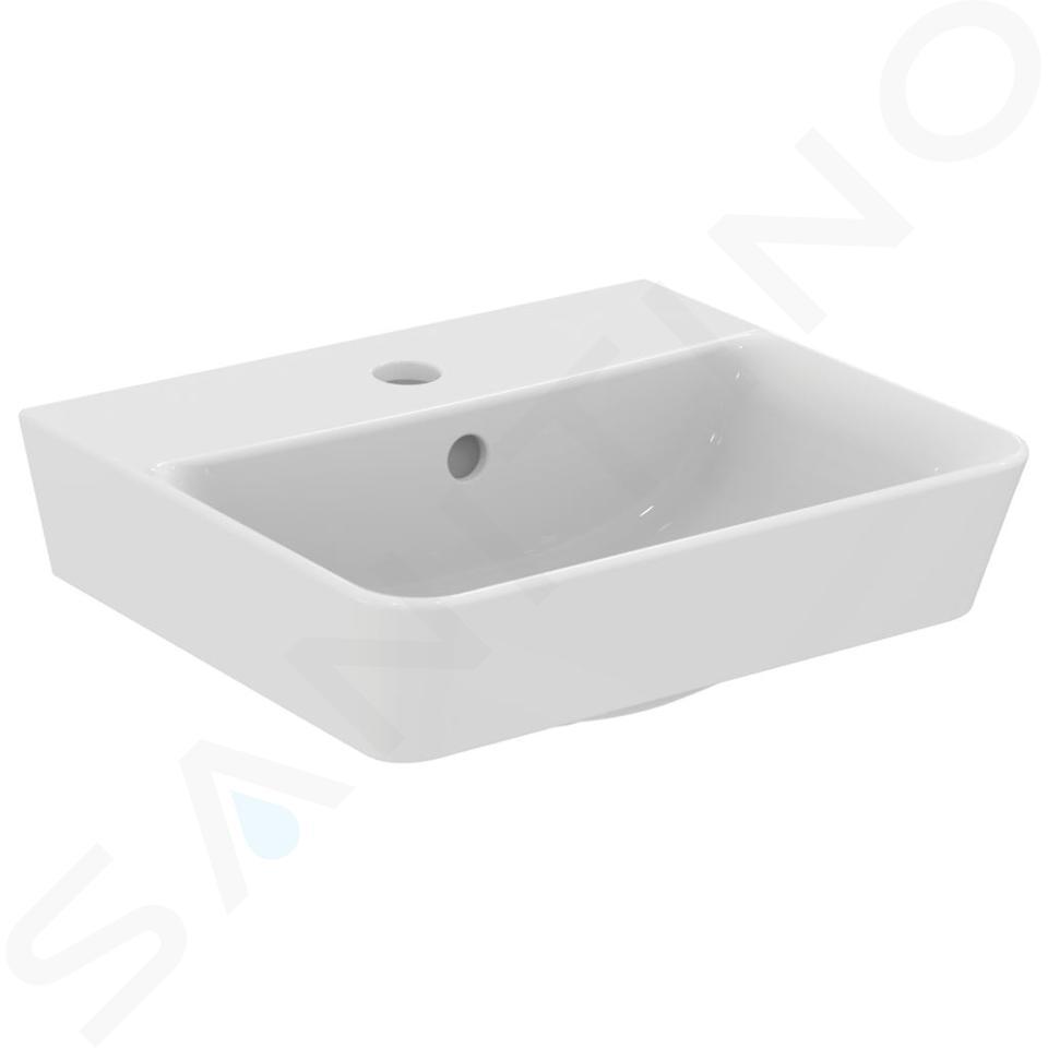 Ideal Standard Connect Air - Fontein Cube 400x350x160 mm,met 1 kraangat, wit E030701