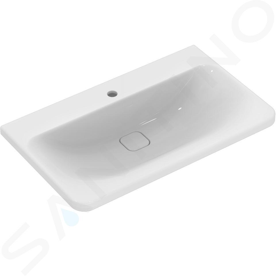 Ideal Standard Tonic II - Lavabo à encastrer, 815x490x170 mm, blanc K087901
