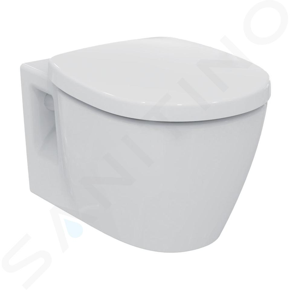 Ideal Standard Connect - Wand-WC, 360x340x540 mm, Rimless, weiß E817401