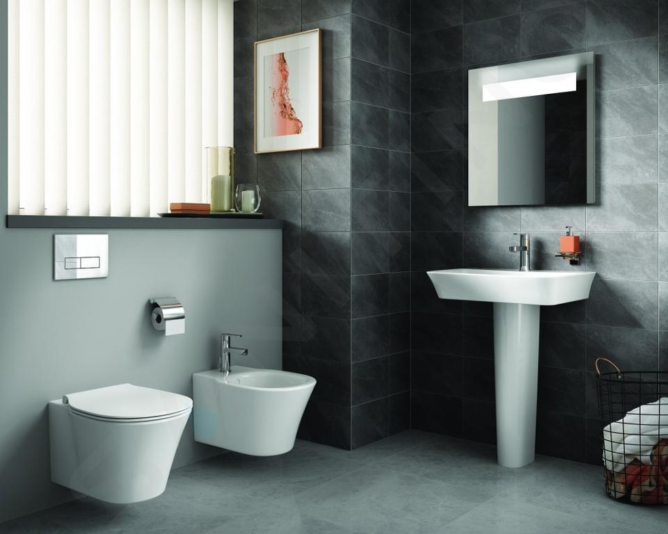 Ideal Standard Connect Air - WC suspendu 360x540x340 mm, Aquablade, Ideal Plus, blanc E0054MA