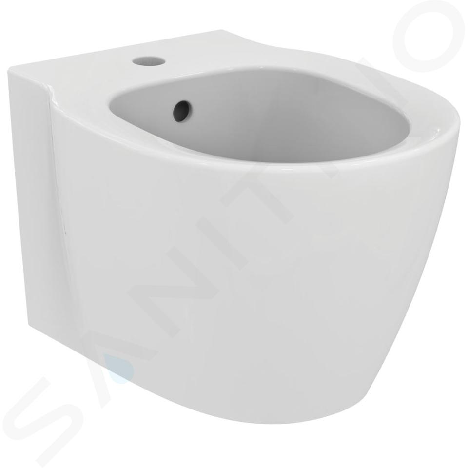 Ideal Standard Connect Space - Wand-Bidet, 365x480x305 mm, weiß E119201