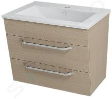 Sapho Kali - Umyvadlová skříňka 590x500x460 mm, dub benátský 56065