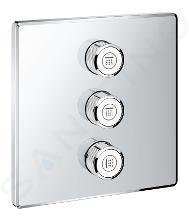 Grohe Grohtherm SmartControl - Ventil pod omietku na 3 spotrebiče, chróm 29127000