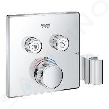 Grohe Grohtherm SmartControl - Miscelatore termostatico a due vie ad incasso per vasca da bagno, con supporto doccia, cromato 29125000
