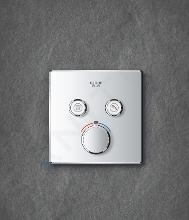 Grohe Grohtherm SmartControl - Thermostatarmatur - Unterputz mit 2 Absperrventilen, verchromt 29124000