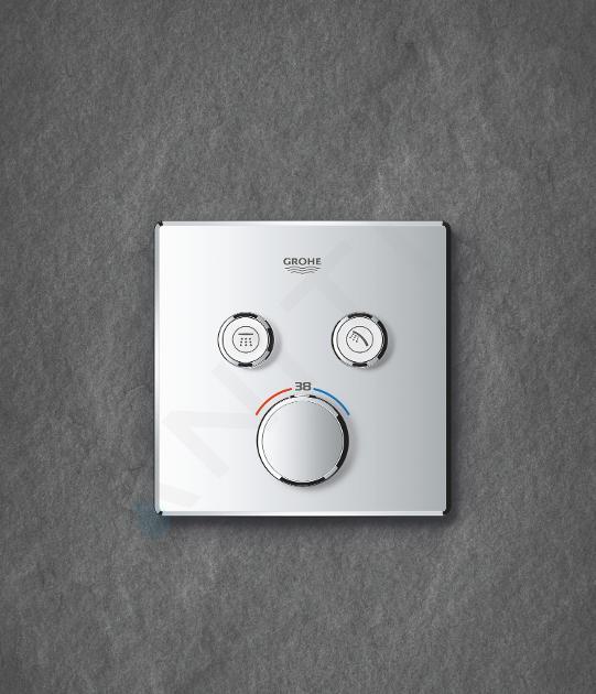 Grohe Grohtherm SmartControl - Termostatická batéria pod omietku s 2 ventilmi, chróm 29124000