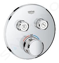 Grohe Grohtherm SmartControl - Miscelatore doccia termostatico ad incasso, 2 utenze, cromato 29119000