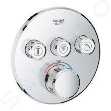 Grohe Grohtherm SmartControl - Termostatická sprchová podomietková batéria, 3 ventily, chróm 29121000