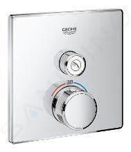 Grohe Grohtherm SmartControl - Miscelatore doccia termostatico ad incasso a via singola, cromato 29123000