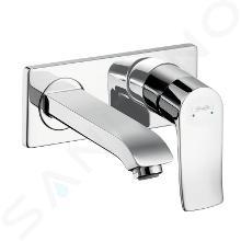 Hansgrohe Metris New - Miscelatore monocomando ad incasso per lavabo, cromato 31085000