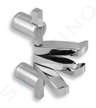 Novaservis Metalia 2 - Handdoekhouder met 3 haken, chroom 6281,0