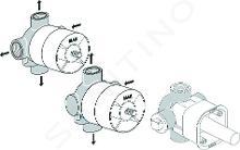 Ideal Standard CeraTherm - Podomítkový díl 1 pro vícecestné ventily 3/2, neutrální A2393NU