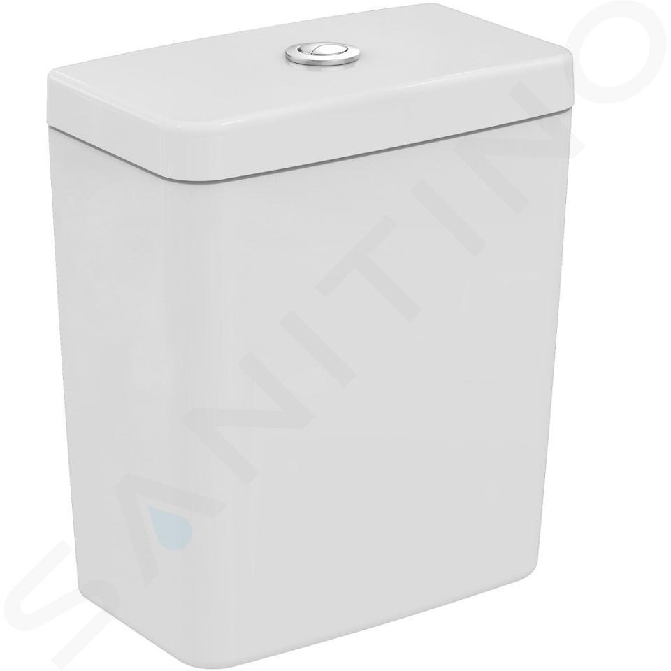 Ideal Standard Connect - Réservoir de chasse d'eau Cube, volume 6 litres, blanc E797001