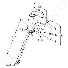 Kludi Balance - Waschtisch Einhebelmischer, chrom 520260575