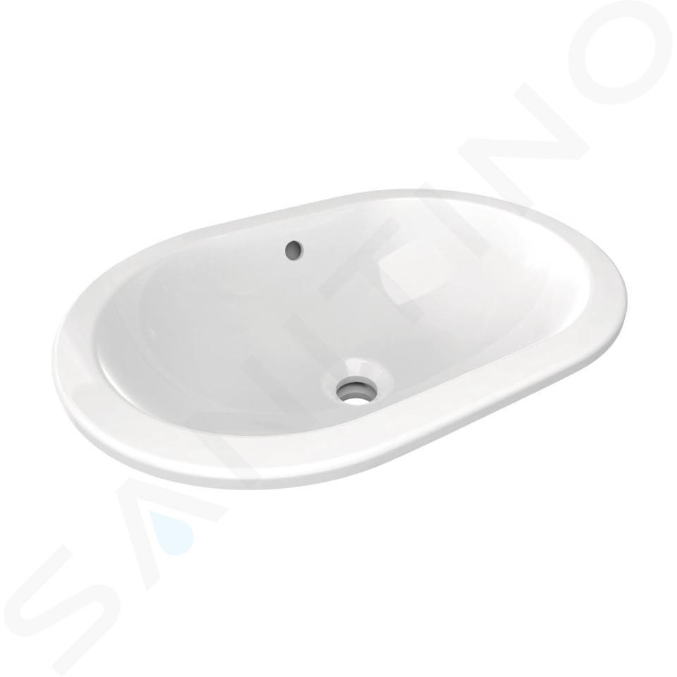 Ideal Standard Connect - Lavabo à encaster par dessous550x175x380 mm, blanc E504801