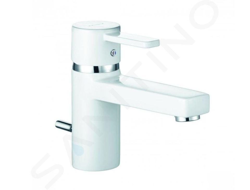 Kludi Zenta - Waschtisch Einhebelmischer, weiß / chrom 382509175