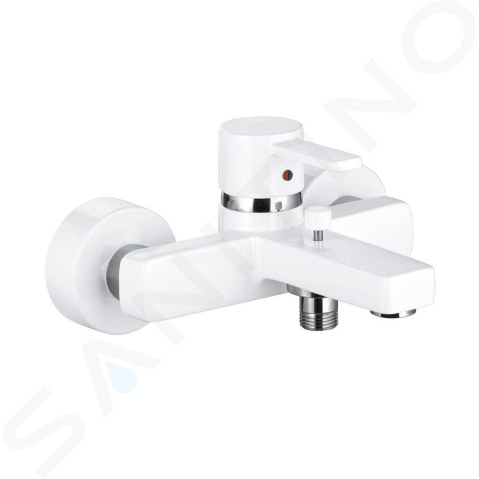 Kludi Zenta - Badewanne Einhebelmischer, weiß / chrom 386709175