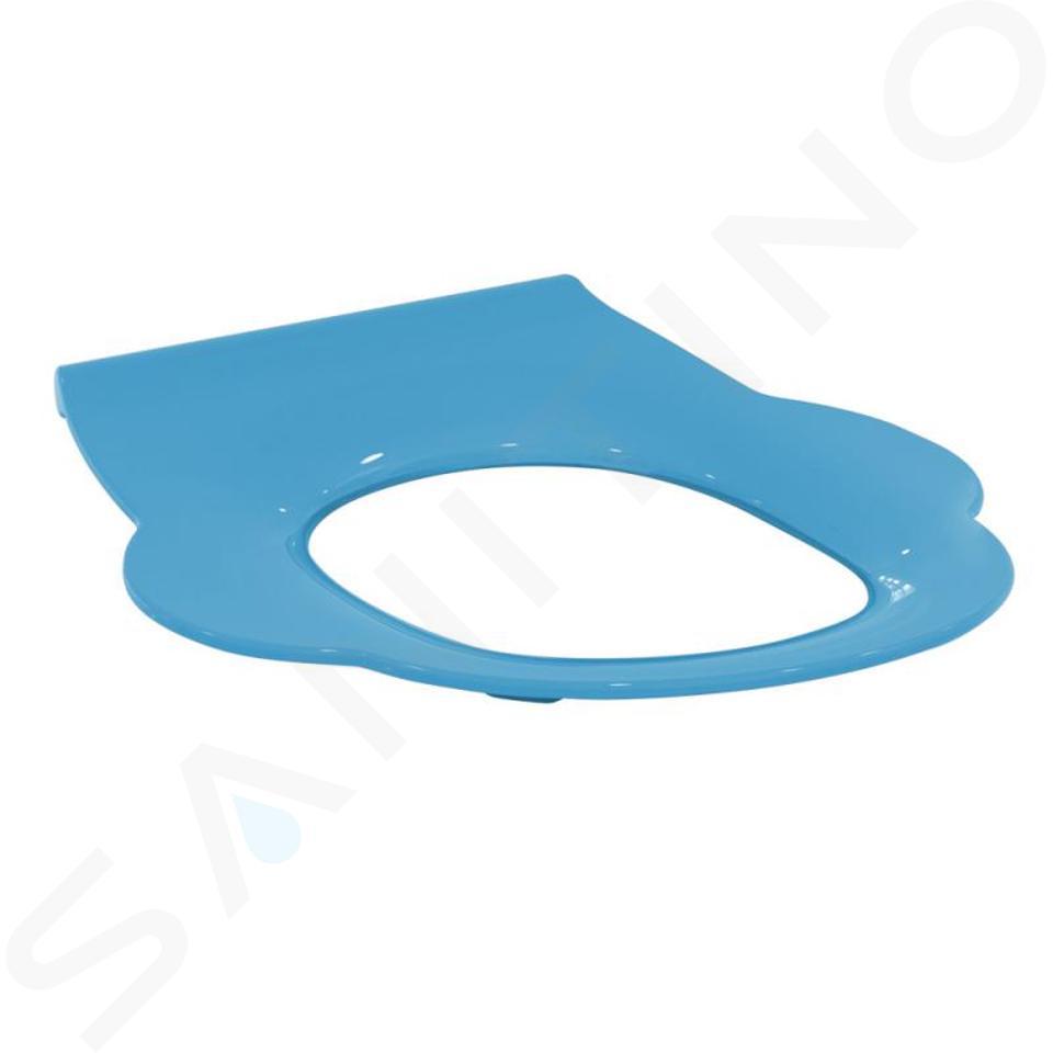 Ideal Standard Contour 21 - Sedile WC per bambini senza copriwater, blu S454236