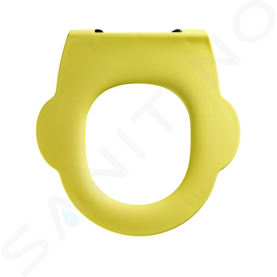Ideal Standard Contour 21 - Closetzitting zonder deksel voor kinderclosetpot, geel S454279