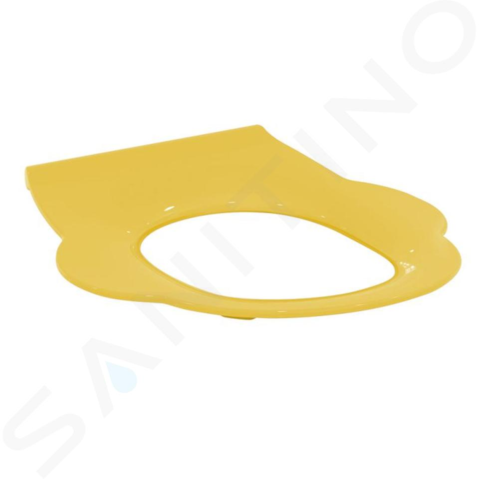 Ideal Standard Contour 21 - WC-Sitz für Kinder ohne Deckel, gelb S454279